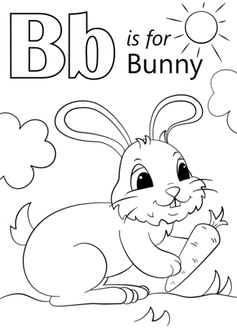 Top Alphabet coloring page