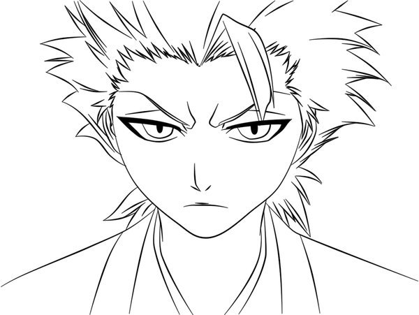 Bleach Coloring Page