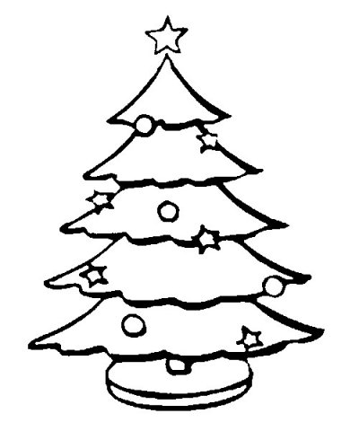 Top Holiday coloring page